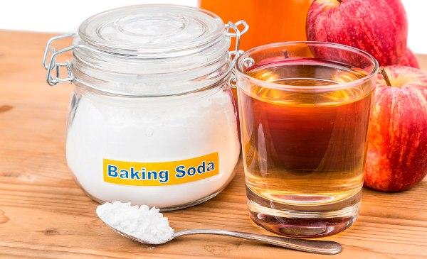Baking soda apple cider vinegar