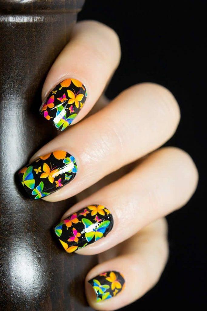 butterfly-nail-art