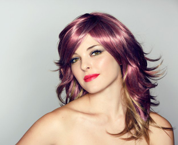 ribboned hair color : Hair Color Trends 2016
