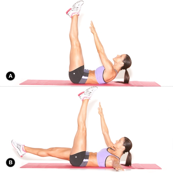 10 Minutes AB Workout to get a SUPER FLAT STOMACH