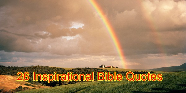 inspirational bible quotes