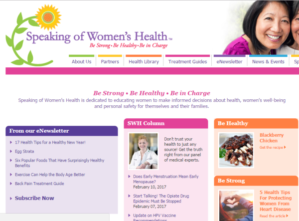 Best health Blogs for Women
