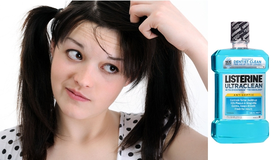 How to Get Rid of Dandruff with LISTERINE!
