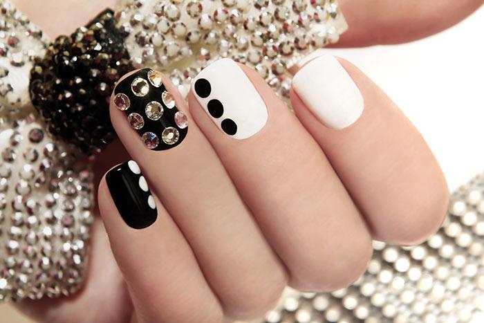 Festive nail art: