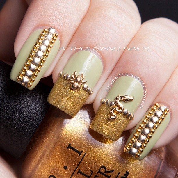 jewel nail art