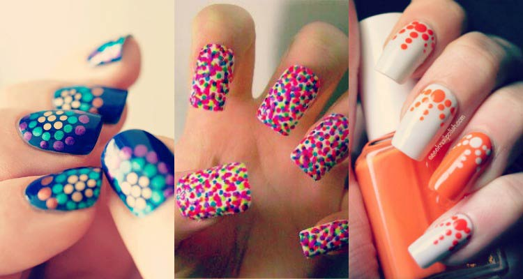 polka-dots-nail-art-ideas